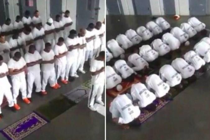 Etats-Unis , prisonniers musulmans
