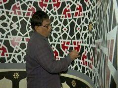 calligraphies coraniques, Coran, artiste hindou, musulmans
