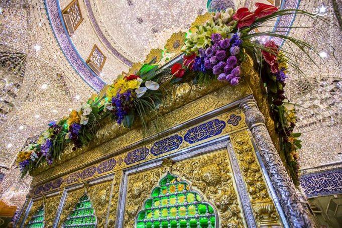 sanctuaire sacré de l'Imam Hussain (AS)