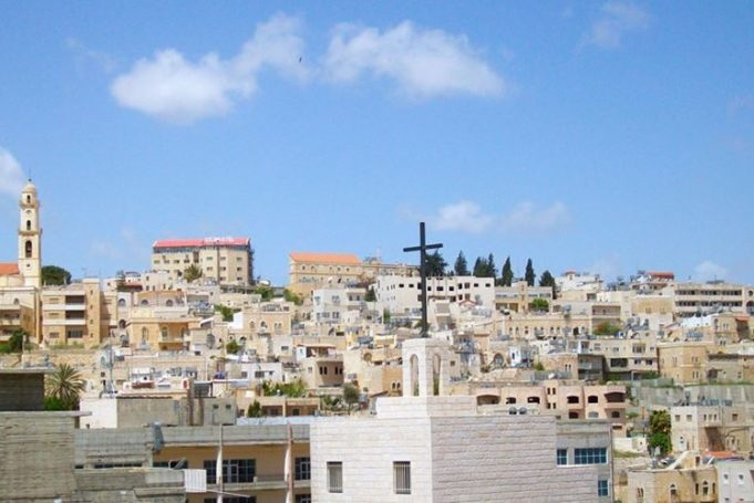 Jérusalem ,Eglise catholique d'Al-Quds, colons juifs