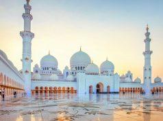 Indonésie, mosquée Sheikh Zayed ,Abu Dhabi