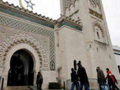 Emmanuel Macron, Grande Mosquée de Paris