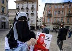 Suisse , burqa