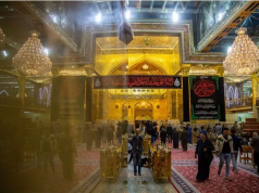 sanctuaire saint Al Abbas (p), Imam Kadhim (AS)