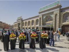 Irak, sanctuaire d'Abi Al-Fadl Al-Abbas, sanctuaire saint Al Hussein (p)