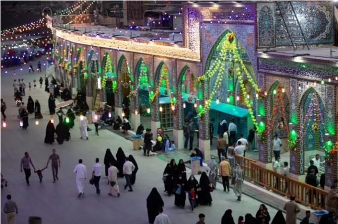 sanctuaire sacré d'al-Abbas (p), Irak