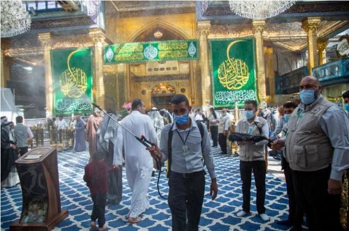 Irak, Sanctuaire sacré d'al-Abbas