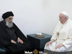Grand Ayatollah Sistani, Pape François