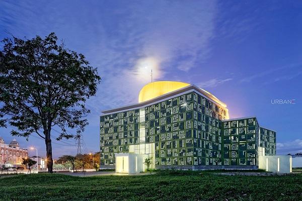 Indonésie, mosquée Asma Al-Hosna