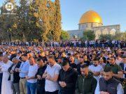 Mosquée Al-Aqsa, prière de l'Eid al-Fitr, Ramadan