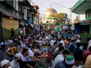 Aïd al-Fitr , musulmans