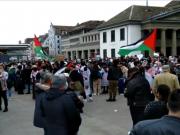 Suisse, Zurich, Palestiniens